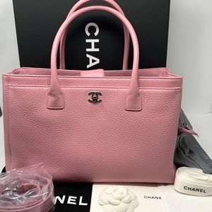 1778fa5a3ea3 Brand New Chanel 2015 Executive Silver Satchel Bag